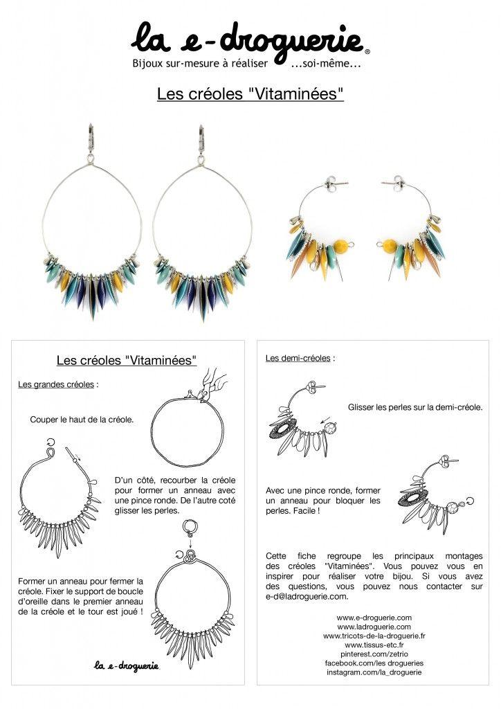 les 403 meilleures images propos de diy bijoux sur pinterest boucles d 39 oreilles en plumes. Black Bedroom Furniture Sets. Home Design Ideas
