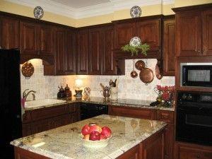 Kitchen Ideas Dark Wood Cabinets best 25+ dark wood kitchens ideas on pinterest | beautiful kitchen