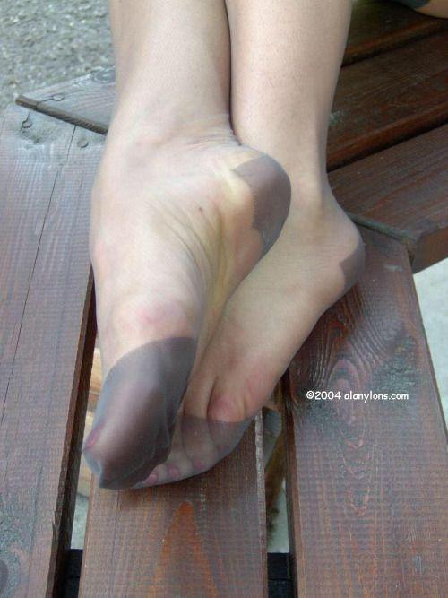 Sexy Stockinged Feet 81