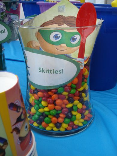Super Why party (lots of pictures)