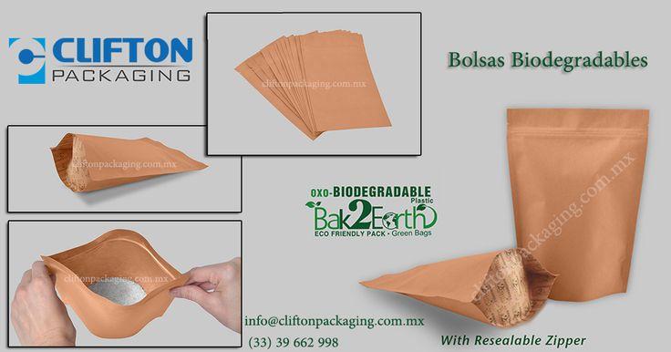 Elaboramos #BolsasBiodegradables que son una opción más #Eco amigable  que la mayoría de empaques tradicionales. Pruébelos.  Nuestras  #Bolsas #Biodegradables son una de las opciones extraordinarias que tenemos para cuidar el medio ambiente ya que se #degradan completamente.