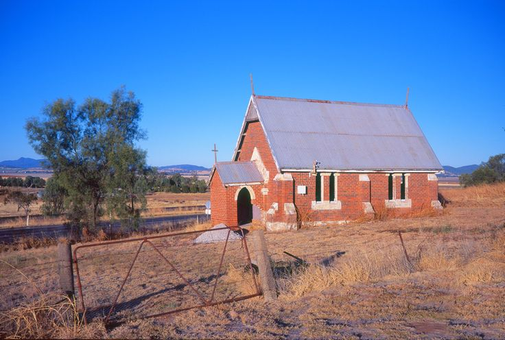 old church building near Tamworth NSW
