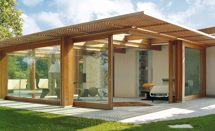 Open your Space #veranda #glass #windows #house #architecture #design