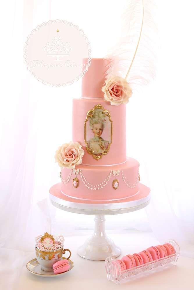 84 Best Marie Antoinette Cakes Images On Pinterest Marie