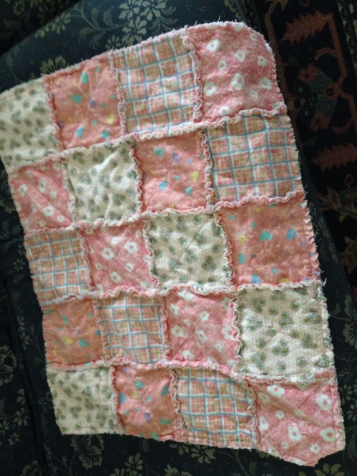 Flannel quilt for Everly