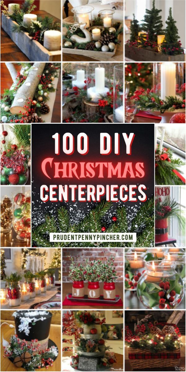 100 Best DIY Christmas Centerpieces in 2020 | Christmas