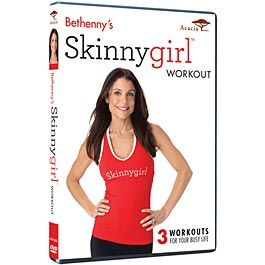 New, Skinny Girl Workout.  Three short yoga workouts from one of my favorites, Bethenny Frankel.
