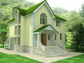 desain rumah tradisional eropa pada terbaik desain rumah