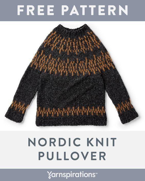 Free knit pattern using Patons Norse yarn. Free Nordic ...