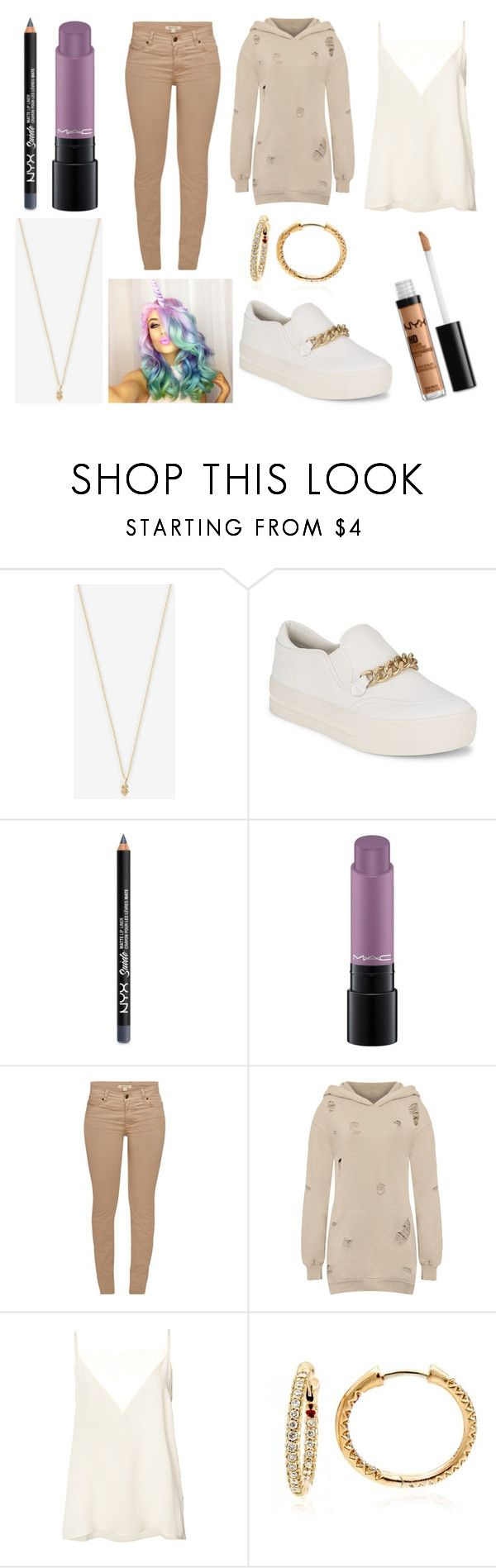 """""""Playing the game from THE CIRCLE"""" by hailey-smith-13 ❤ liked on Polyvore featuring Winden Jewelry, Ash, NYX, MAC Cosmetics, Barbour, WearAll, Anine Bing and Roberto Coin"""