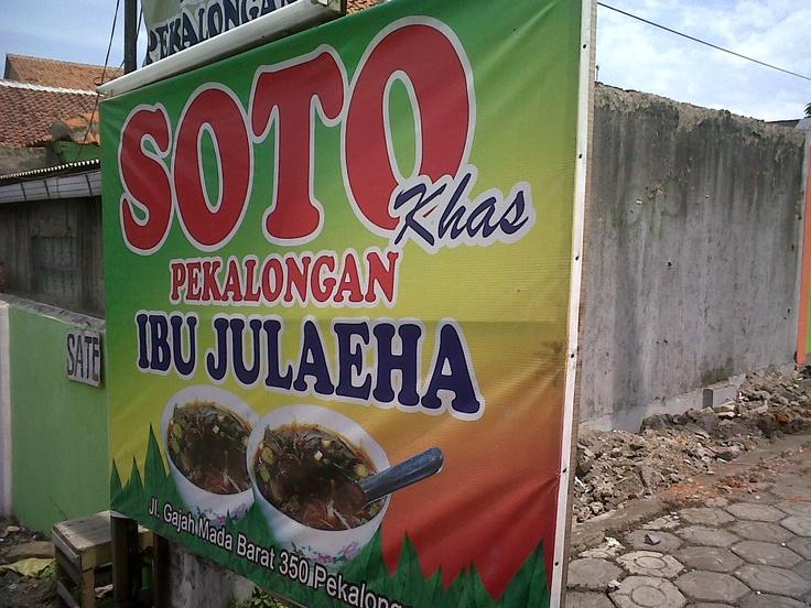 Soto ayam Julaeha, Pekalongan. yummy and cheap