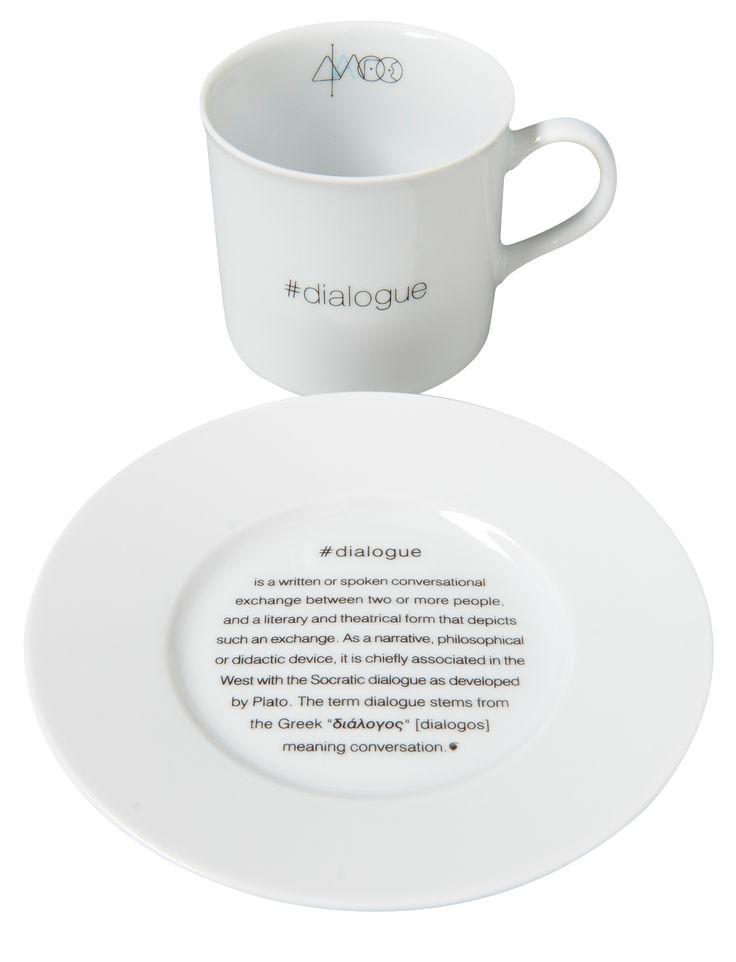 Cappuccino Cup #dialogue