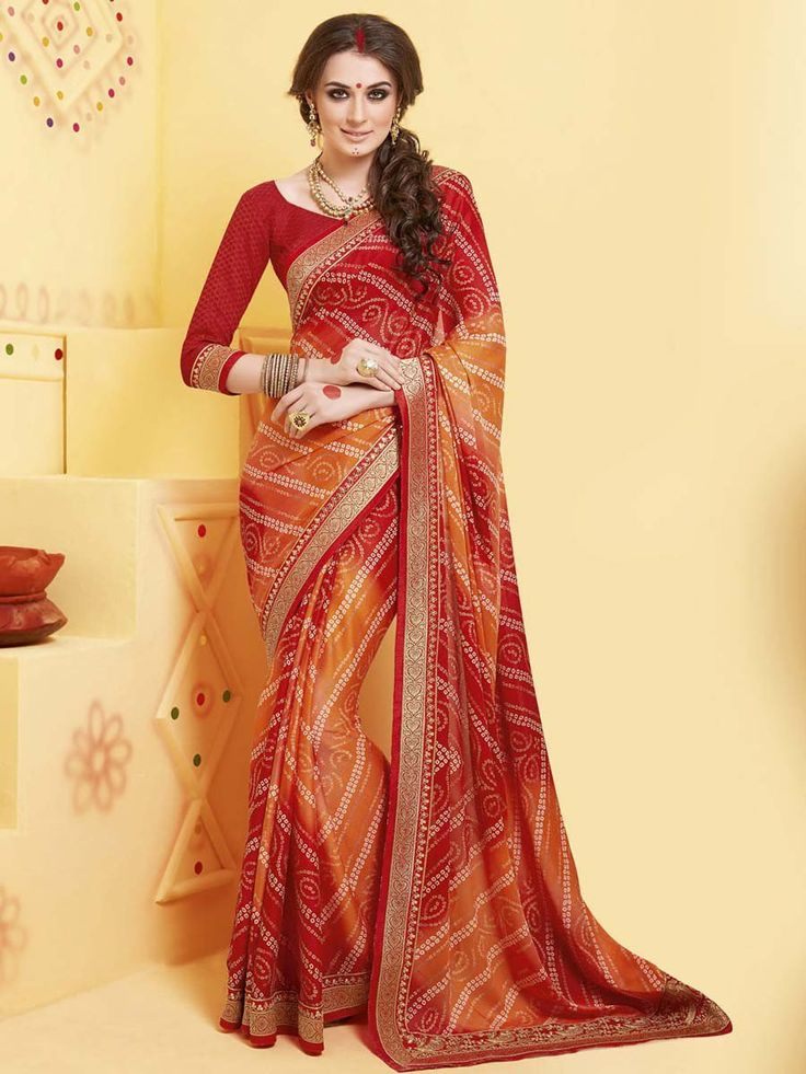 Look more beautiful and stylish than any body else.  Item Code; SSVH6670 http://www.bharatplaza.com/new-arrivals/sarees.html