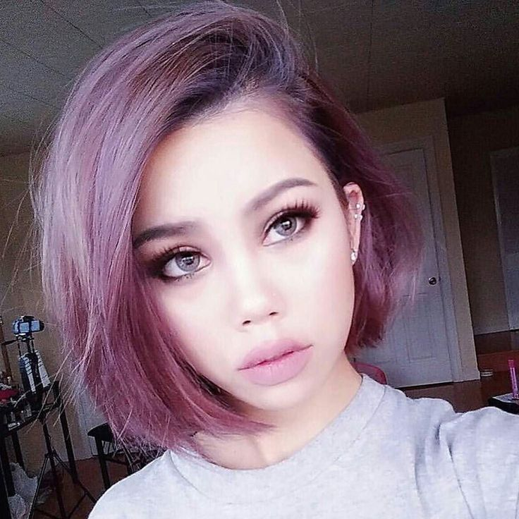 The 25+ best Short purple hair ideas on Pinterest | Short lavender ...