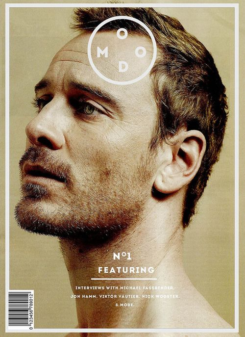 Seriously cool portrait of Mr Fassbender.