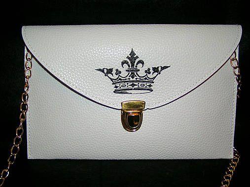 emulikart / hand painted envelope clutch