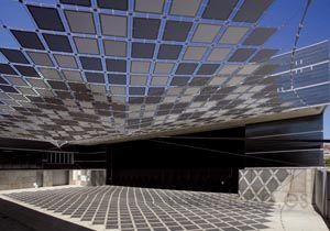 IASO, S.A. Arquitectura Textil, Palacio de Congresos de Huesca