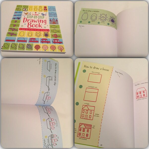 Step by step drawing book #raisasbooks http://org.usbornebooksathome.co.uk/RaisBooks/catalogue/catalogue.aspx