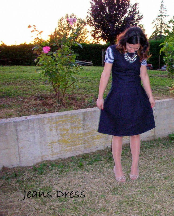 Piccole Sarte Crescono: Jeans Dress      Di solito dico sempre che questo ...