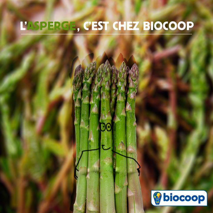 En avril, c'est l'asperge qui tient la vedette chez Biocoop !