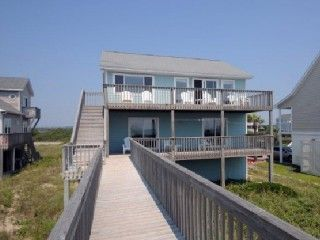 Island Drive 3512 Oceanfront! | Internet, Pet FriendlyVacation Rental in North Topsail Beach from @HomeAway! #vacation #rental #travel #homeaway