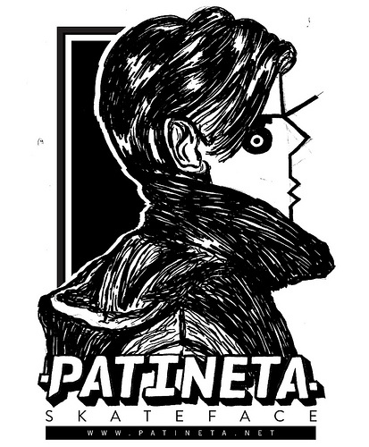 Patineta.cl I.D // dibujo sucio  tomas dintrans , 2012