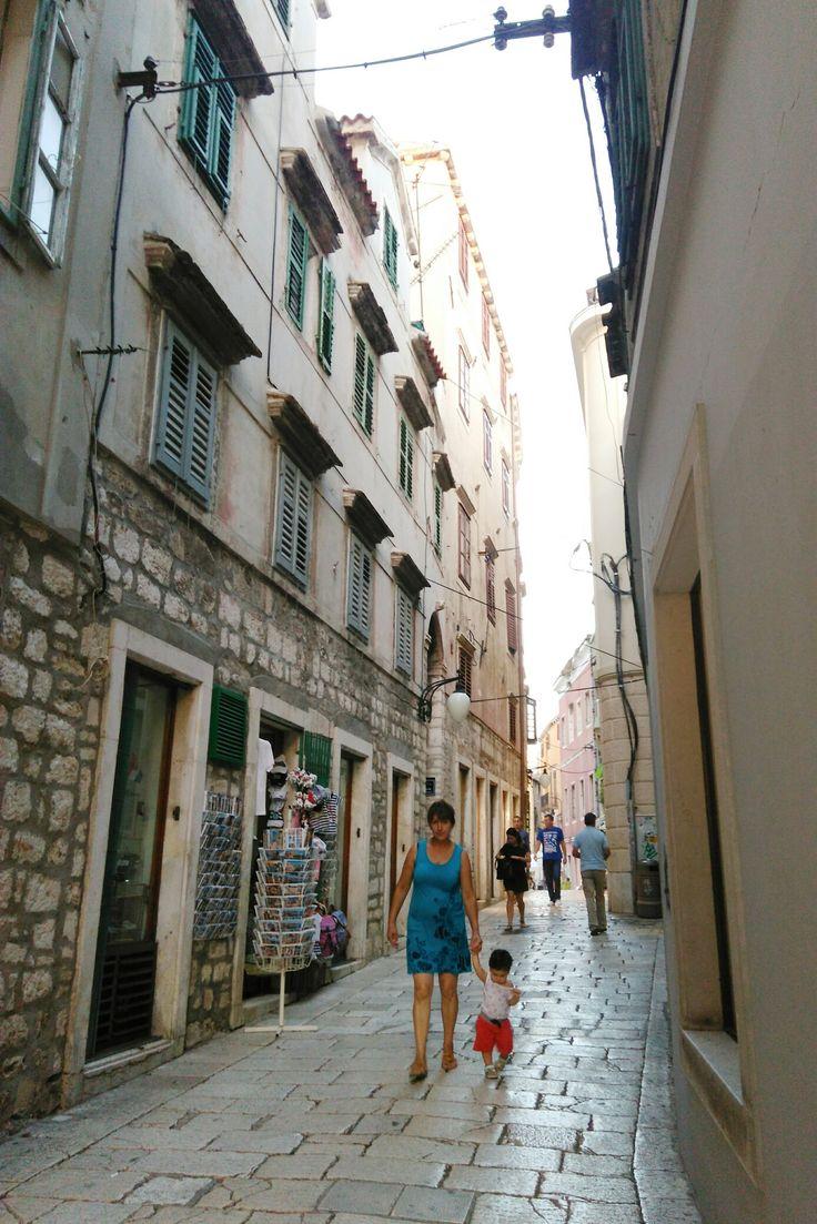 Streets in Šibenik🎨