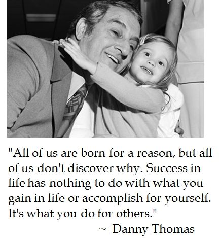It's what you do for others.