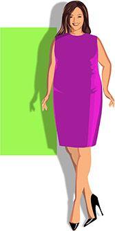 Resultado de imagen de BODY TYPES WOMEN RECTANGLE PLUS SIZE