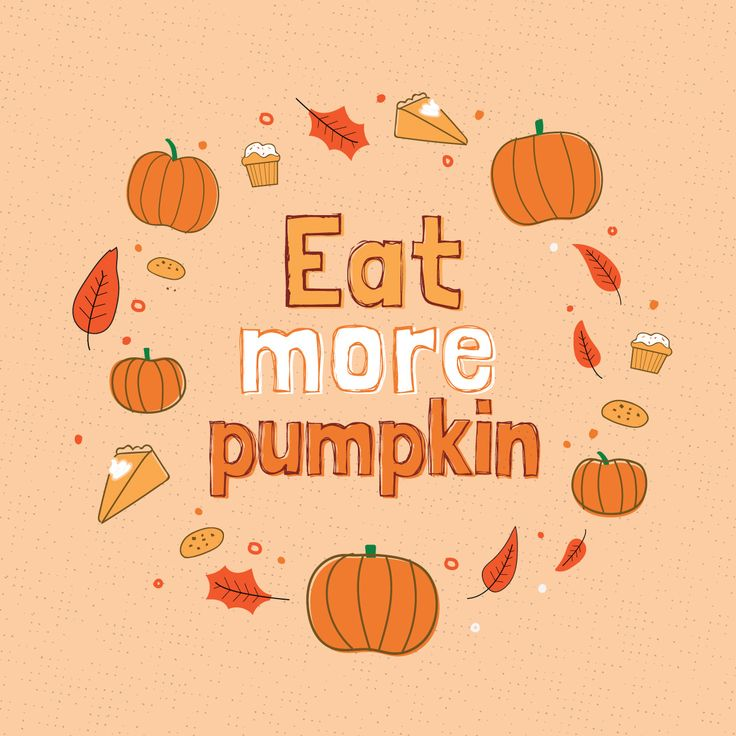 PUMPKIN IS a good source of zinc, iron, and magnesium, which helps prevent bleeding gums, keeps our tongues healthy, and protects tooth enamel!