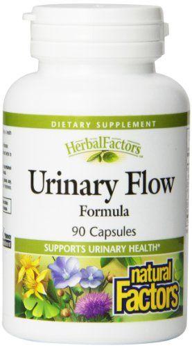 Natural Factors Urinary Flow (Diuretic) Capsules, 90-Count