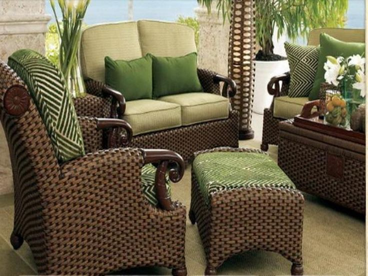 25 best ideas about wicker patio furniture on pinterest outdoor wicker furniture outdoor - Screened porch furniture ideas ...
