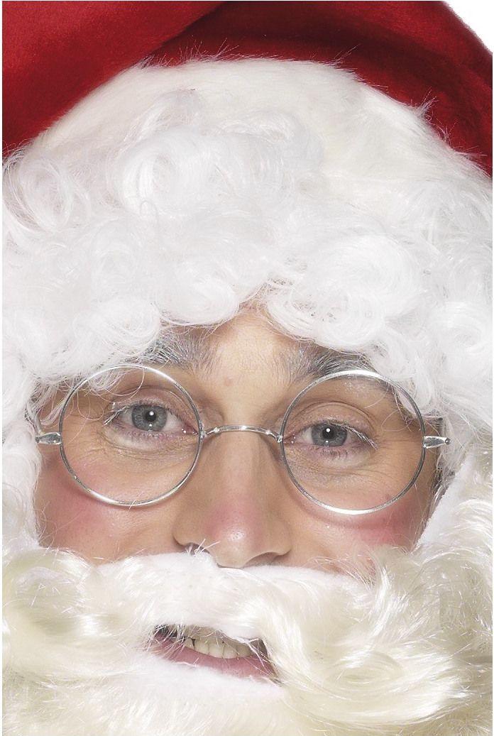 Joulupukin silmälasit ilman linssejä.