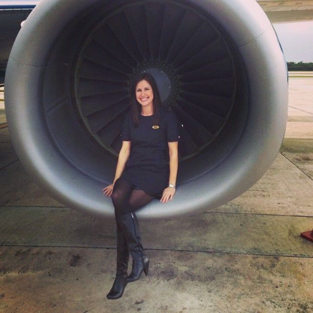 588 Best Images About Flight Attendants In Pantyhose On