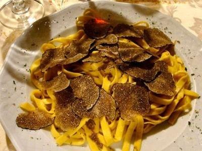 Black Truffle Tagliatelle