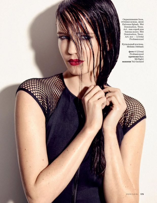 Eva Green for Elle Russia, May 2015