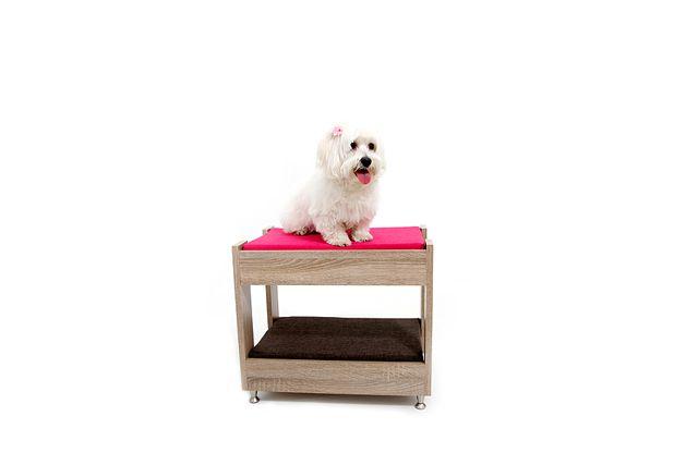 PetBed - Επιπλάκια, κρεβατάκια, έπιπλα, κρεβάτια, κατοικίδια, ζώα, σκύλος, γάτα, Ξύλινα