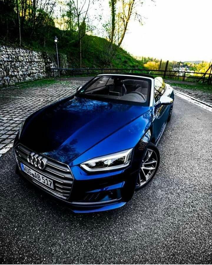 New Audi A5 Cabrio