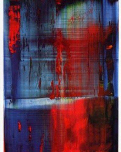 Gerhard Richter abstract