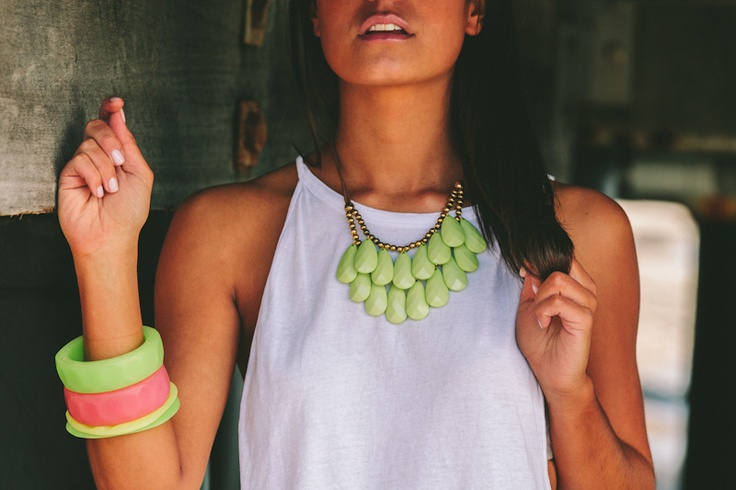 Neon numbers by Lola & Syd