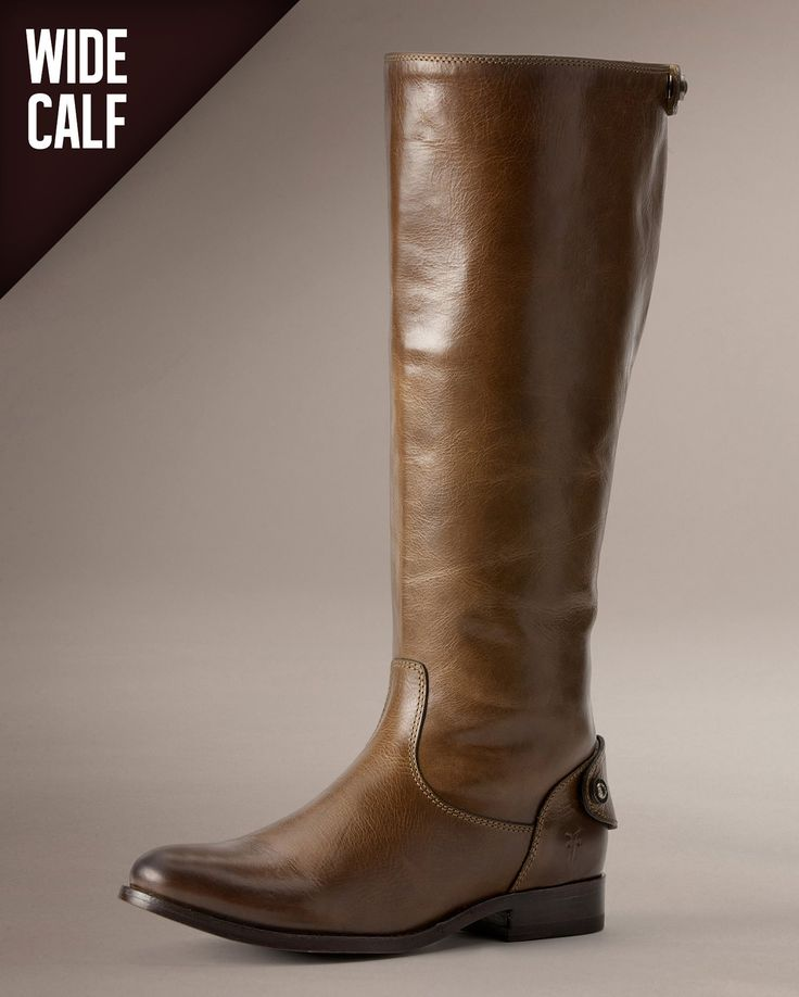 Melissa Button Back Zip Wide - Women_Boots_Riding - The Frye Company
