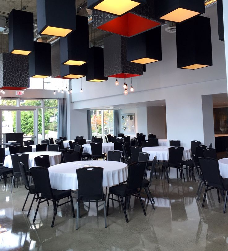 Tons of natural light in our Urban Ballroom