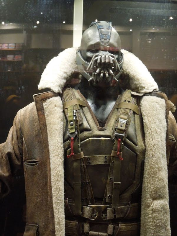 bane | Tom Hardy's Bane costume from The Dark Knight Rises...