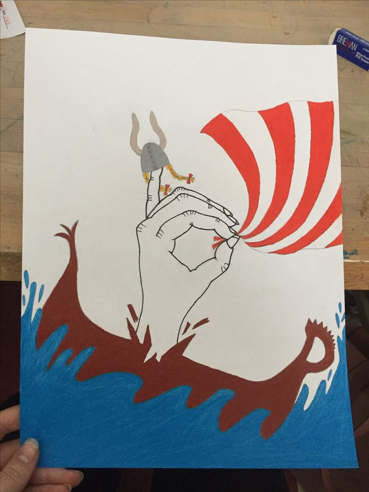 Sign language letter art project at school