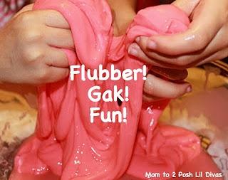 Making & Exploring Flubber! (aka Gak!)