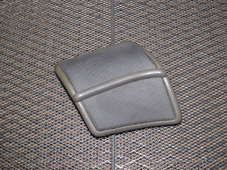 89 90 91 92 Toyota Supra OEM Rear Speaker Grille Cover - Left