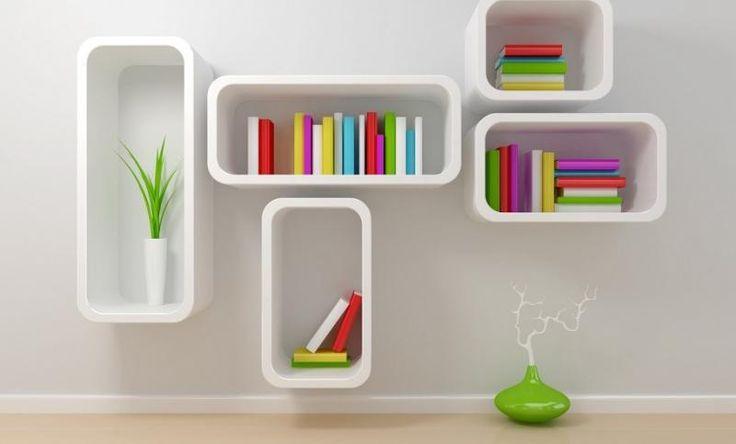 Idei creative de rafturi pentru cărți