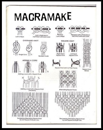 Basic Macrame Plant Hanger