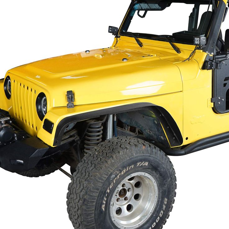 19972006 Jeep Wrangler TJ Front and Rear Fender Flares