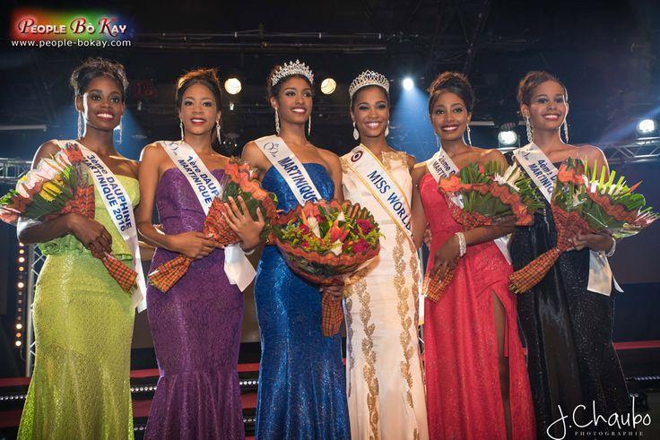 Aurélie Joachim élue Miss Martinique 2016|People Bo Kay